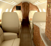 Private Jet Photo Bombardier Learjet 60XR interior