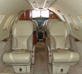 Private Jet Photo Cessna Citation Bravo interior