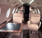 Cessna Citation III cabin, buy a private jet
