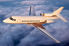 Falcon 900B private jet
