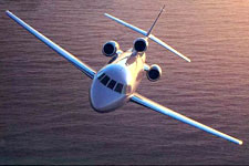 Falcon 900DX private jet