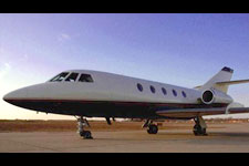Falcon 20-5 private jet