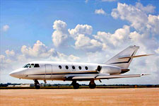 Falcon 20F Private jet
