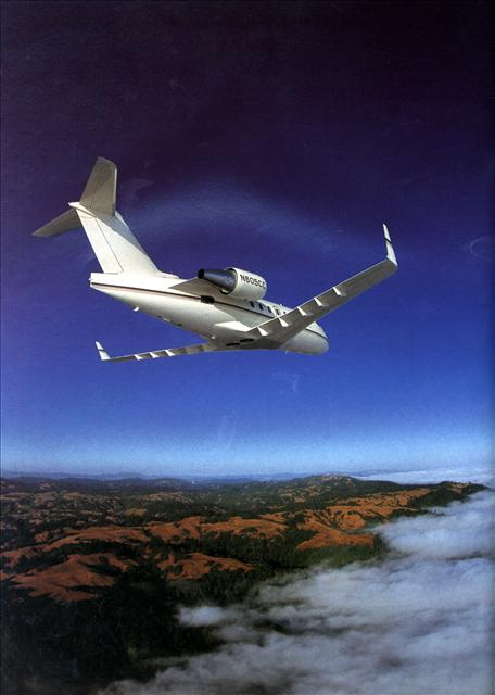 Bombardier Challenger 604 Private Jet