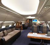 Private Jet Photo Airbus A318 interior