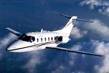 Private Jet Photo Beechjet 400A exterior
