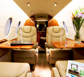 Private Jet Photo Beechjet 400A interior