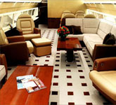 Private Jet Photo Boeing Business Jet 2 interior