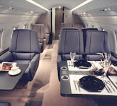 Private Jet Photo Bombardier Challenger 600 interior