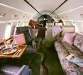 Private Jet Photo Bombardier Challenger 601-3R interior