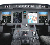 Private Jet Photo Bombardier Challenger 605 cockpit