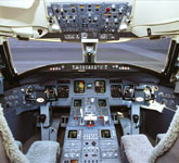 Private Jet Photo Bombardier Challenger 870 CS cockpit