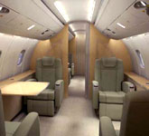 Private Jet Photo Bombardier Challenger 870 CS interior