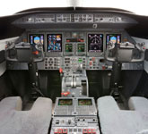 Private Jet Photo Bombardier Learjet 45XR cockpit