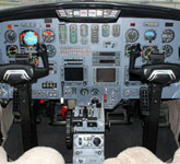 Private Jet Photo Cessna Citation II/SP cockpit