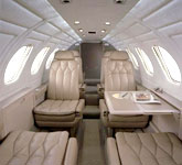 Cessna Citation II cabin, buy a private jet