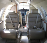 Private Jet Photo Cessna Citation Jet interior