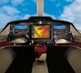 Cessna Citation Mustang cockpit, buy a private jet