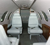 Private Jet Photo Cessna Citation S/II interior