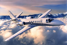 Private Jet Photo Cessna Citation Ultra exterior
