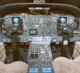 Private Jet Photo Cessna Citation VII cockpit
