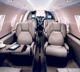 Cessna Citation XLS+ cabin, private jet