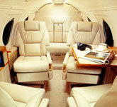 Private Jet Photo Dassault Falcon 100 interior