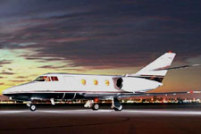 Private Jet Photo Dassault Falcon 10 exterior