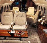 Private Jet Photo Dassault Falcon 2000EX interior