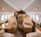 Private Jet Photo Dassault Falcon 7X interior