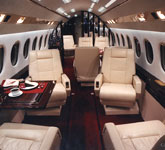 Private Jet Photo Dassault Falcon 900C interior