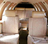Private Jet Photo Gates Learjet 24F interior
