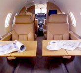 Private Jet Photo Gates Learjet 25D interior