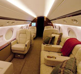 Private Jet Photo Gulfstream G350 interior
