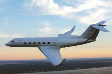 Private Jet Photo Gulfstream G450 exterior