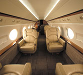 Private Jet Photo Gulfstream G450 interior