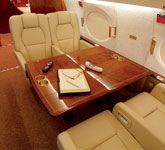 Private Jet Photo Gulfstream G500 interior
