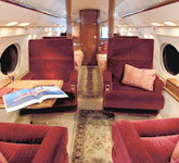 Private Jet Photo Gulfstream GIII interior