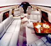 Private Jet Photo Gulfstream GII interior
