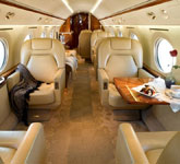 Private Jet Photo Gulfstream GIVSP interior