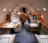 Private Jet Photo Gulfstream GIV interior