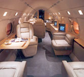 Private Jet Photo Gulfstream GV interior