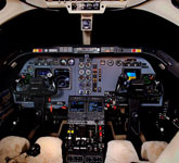 Private Jet Photo HawkerBeechcraft Hawker 400XP cockpit