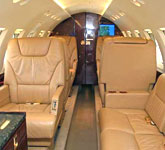 Private Jet Photo Hawker Beechcraft Hawker 800A interior