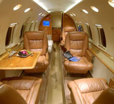 Private Jet Photo Hawker Beechcraft Hawker 800XP interior