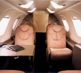Private Jet Photo Raytheon Premier IA interior