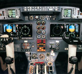 Private Jet Photo Isreal Aircraft Industries Astra SPX cockpit