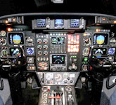 Private Jet Photo Isreal Aircraft Industries Astra SP cockpit